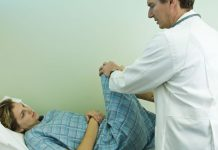 Ménisque discoïde : examen du genou