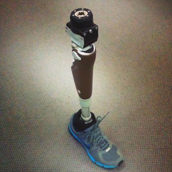 prothèse de jambe