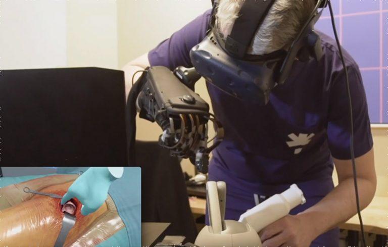 FundamentalVR intègre les gants HaptX à son simulateur de réalité virtuelle